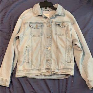 Women's Blue jean jacket (xsmall)